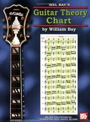 Cover of: Mel Bay's Guitar Theory Chart | William Bay
