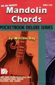 Cover of: Mel Bay's Mandolin Chords,  Pocketbook Deluxe Series | William Bay