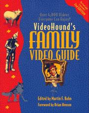 Cover of: VideoHound's Family Video Guide by Martin F. Kohn