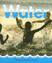 Cover of: Water | Heather Christie
