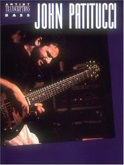 Cover of: John Patitucci | John Patitucci
