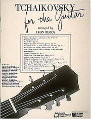 Cover of: Tchaikovsky for Guitar | Leon Block
