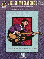 Cover of: Jazz Guitar Classics | Jack Grassel