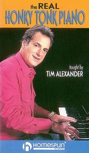 Cover of: The Real Honky Tonk Piano by Tim Alexander
