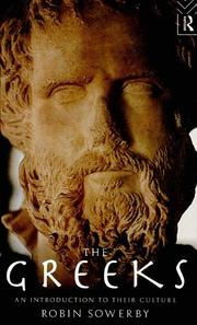 Cover of: The Greeks by Robin Sowerby