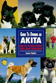 Cover of: Guide to Owning an Akita | Jason Taylor