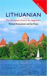 Cover of: Colloquial Lithuanian | Ian Press
