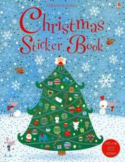 Cover of: Christmas Sticker Book | Lucy Bowman