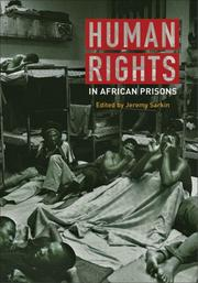 Cover of: Human Rights in African Prisons | Jeremy Sarkin