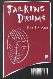 Cover of: Talking Drums | Peter Eric Adotey Addo