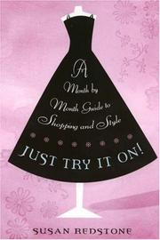 Cover of: Just Try It On | Susan Redstone