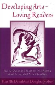 Cover of: Developing Arts Loving Readers | Douglas Fisher
