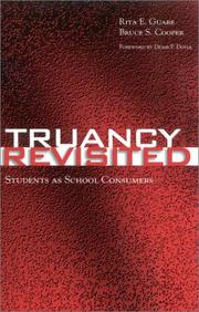Cover of: Truancy Revisited by Bruce S. Cooper
