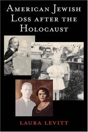 Cover of: American Jewish Loss after the Holocaust by Laura Levitt