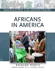 Cover of: Africans in America | Richard Worth