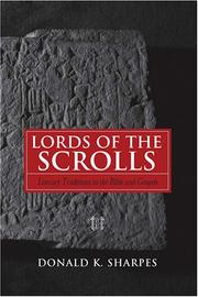 Cover of: Lords of the Scrolls by Donald K. Sharpes