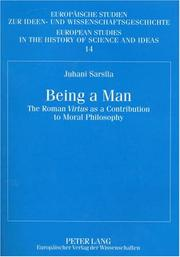 Cover of: Being a Man | Juhani Sarsila