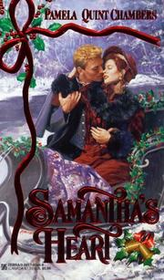 Cover of: Samantha's Heart by Pamela Quint Chambers