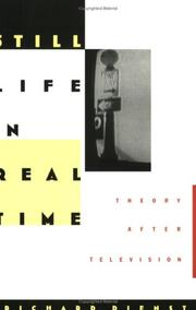 Cover of: Still life in real time | Richard Dienst