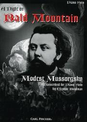 Cover of: A Night On Bald Mountain - Piano Solo | Modest Mussorgsky