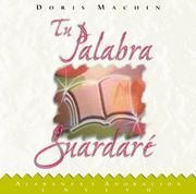 Cover of: Tu Palabra Guardaré CS | Doris Machin