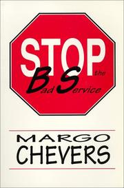 Cover of: Stop the Bad Service | Margo Chevers