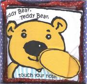 Cover of: Teddy Bear, Teddy Bear, Touch Your Nose | Unauthored