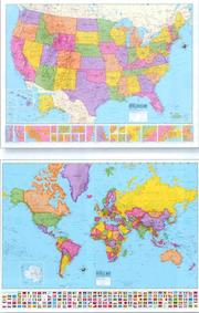 Cover of: Hammond Delux Collectors Laminated Wall Maps | Hammond World Atlas