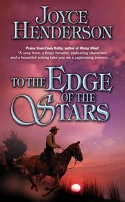 Cover of: To the Edge of the Stars by Joyce Henderson