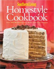 Cover of: Southern Living Homestyle Cookbook | Southern Living Magazine