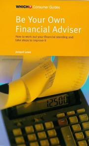 "Cover of: Be Your Own Financial Adviser (""Which?"" Consumer Guides) 