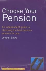 "Cover of: Choose Your Pension (""Which?"" Consumer Guides) by Jonquil Lowe"