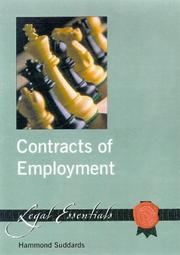 Cover of: Contracts of Employment by Hammond Suddards