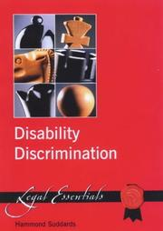 Cover of: Disability Discrimination by Hammond Suddards