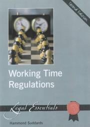 Cover of: Working Time Regulations by Hammond Suddards
