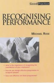 Cover of: Recognising Performance (Good Practice) | Michael Rose