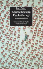 Cover of: Counselling and Psychotherapy | Windy Dryden