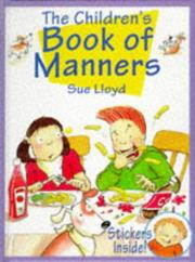 Cover of: Children's Book of Manners | Susan M. Lloyd