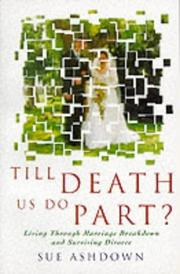 Cover of: Till Death Us Do Part? by Sue Ashdown