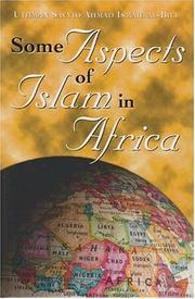 Cover of: Some Aspects of Islam in Africa | Uthman Sayyid Ahmad Ismail Al-Bili