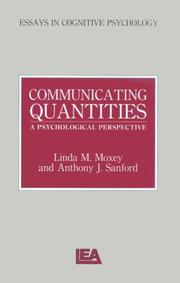 Cover of: Communicating Quantities | Linda M. Moxey