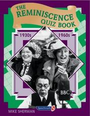 Cover of: The Reminiscence Quiz Book by Mike Sherman