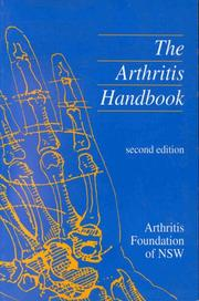Cover of: The Arthritis Handbook | Arthritis Foundation of New South Wales