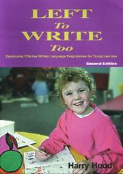 Cover of: Left To Write Too | Harry Hood