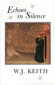 Cover of: Echoes in Silence | W.J. Keith