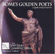 Cover of: Rome's Golden Poets by St Louis Chamber Chorus