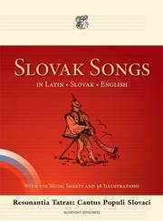 Cover of: Slovak Songs in Latin, Slovak, English: Resonantia Tatrae by Ivan Reguli