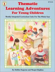 Cover of: Thematic Learning Adventures for Young Children by Debbie Duguran
