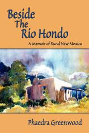 Cover of: Beside the Rio Hondo by Phaedra Greenwood