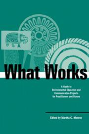 Cover of: What Works by Martha C. Monroe